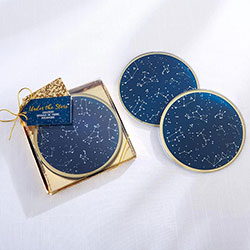 Under the Stars Glass Coasters