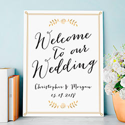 Personalized Poster (18x24) - Wedding