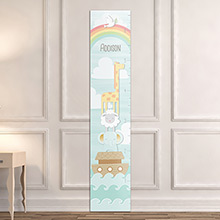 Personalized Noahs Ark Growth Chart